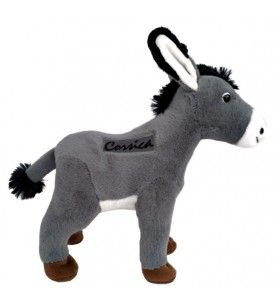 Standing donkey plush 20 cm