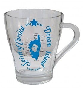 Mug en verre Dream Island