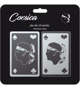Doppio mazzo di 54 carte da poker TEXTISUN - Doppio mazzo di 54 carte da poker
