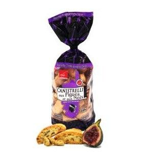 Canistrelli with Figs and Walnuts AFA - 350g  - Canistrelli with figs and nuts 350g AFA