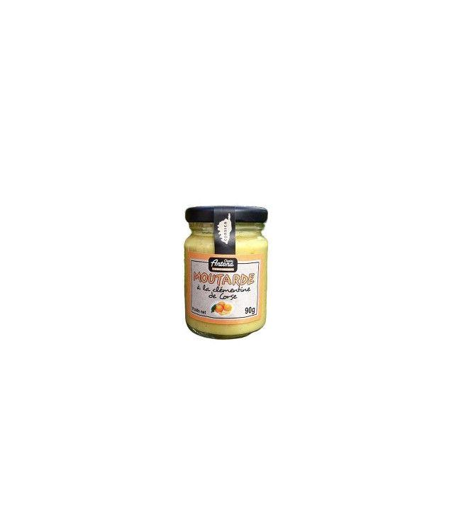 Moutarde à la Clémentine 90g
