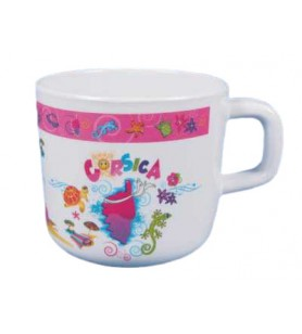 Mini Mug Bambino rosa isola