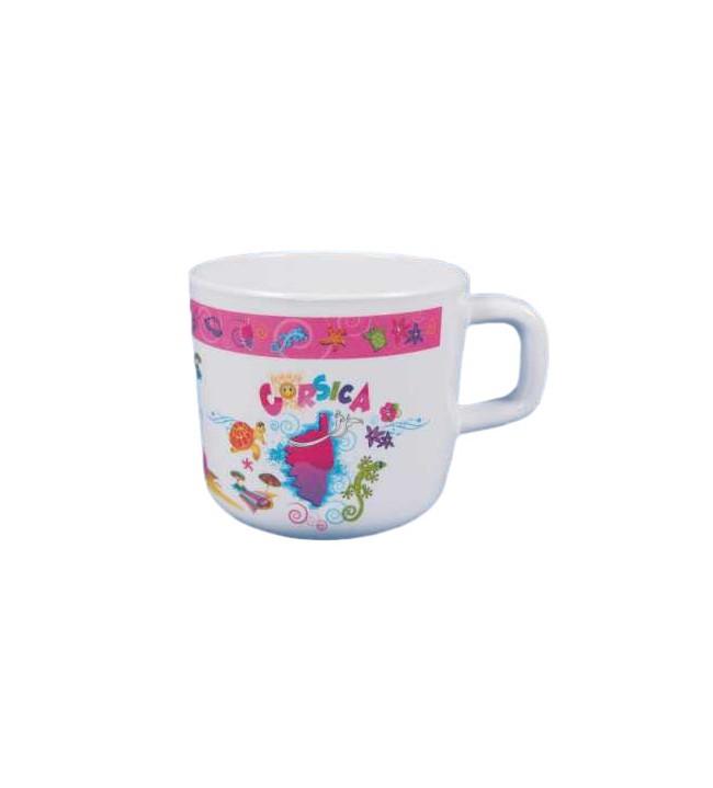 Mini Mug Enfant île rose