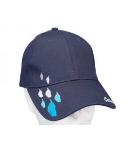 Gorra bordada azul de la isla de Córcega