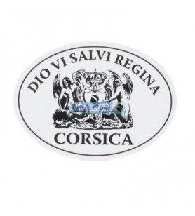 Dio Vi Salvi Regina Sticker Grande Modello D DESJOBERT - Adesivo Dio Vi Salvi Regina Grande Modello D Dimensioni: 10 X 7 cm circ