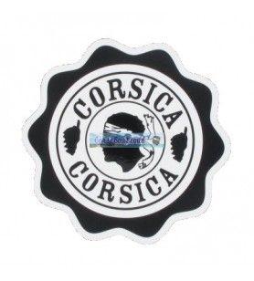 Autocollant soleil Corsica Grand Modèle D