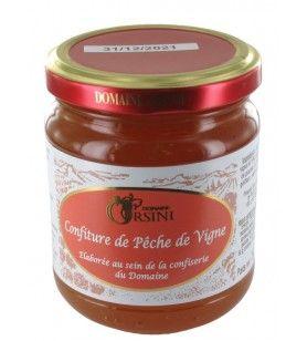 Vine Peach Jam 250 gr Orsini