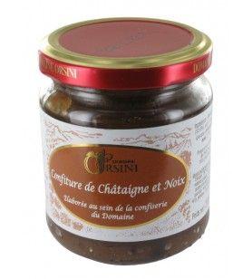 Confiture de Châtaigne et Noix 250 gr Orsini
