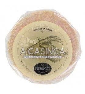 Käse aus korsischer Ziegenmilch  - Ziegenkäse A Casinca 350 Gr Zusammensetzung: Ziegenmilch, Milchsäurebakterien, Salz. Produkt