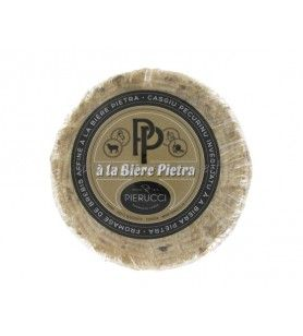 Corsican cheese - Tomme Corse with PIETRA beer