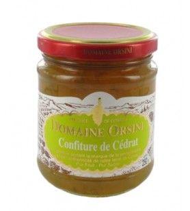 Marmellata di cedro candito 250 gr Orsini
