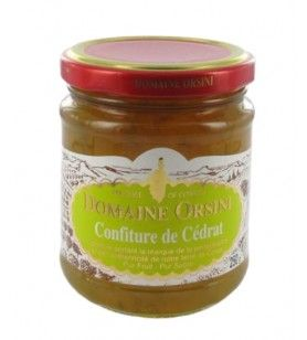 Jam of citron 250 gr Orsini