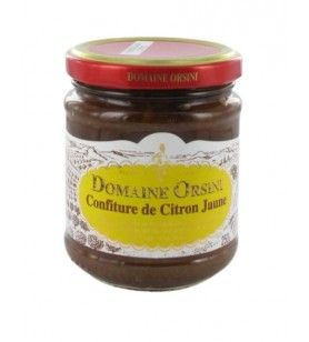 Jam lemon yellow 250 gr Orsini