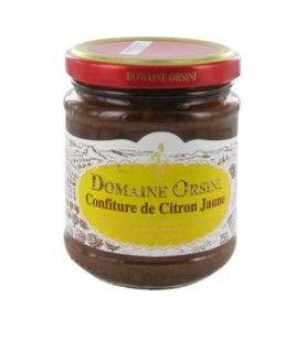 Yellow Lemon Jam 250 gr Orsini