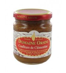 Jam van clementine 250 gr Orsini  -  Jam van clementine 250 gr Orsini