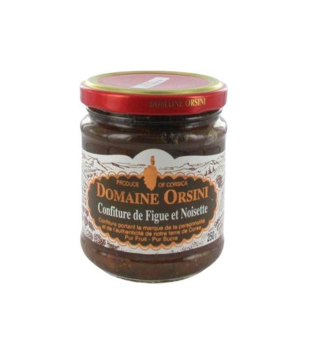 Confiture de Figue et Noisette 250 gr Orsini