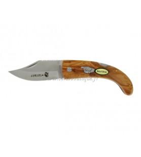 Oliven-Messer 18 cm guilloché