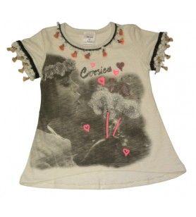 Tee-shirt lolita new fille  - Tee-shirt lolita new fille