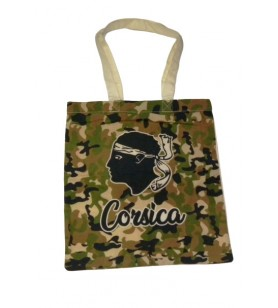 Camouflaged Moorish-headed Tote Bag