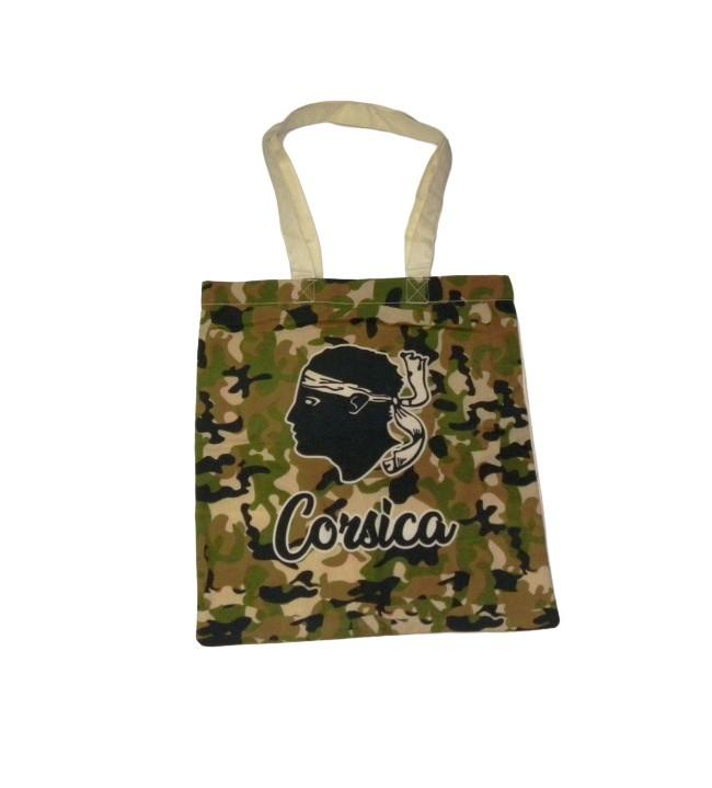 Camouflaged Moorish-headed Tote Bag