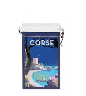 Boite métal hermétique Tour Génoise  - Casa Corsica – Boite métal hermétique Tour Génoise Dimensions : 19,5 cm de haut, 14 cm de