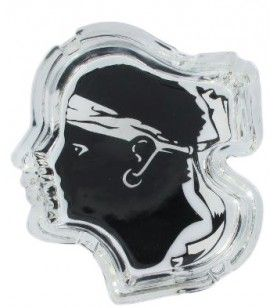 Maurische Kopf Crystal Aschenbecher