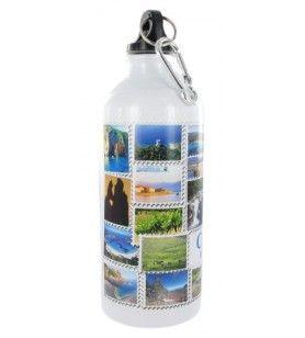 Bottiglia di acqua Alu Corsica isola del tesoro