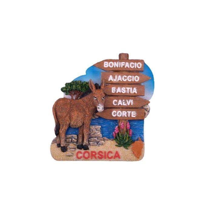 Magnet Pancarte Corsica