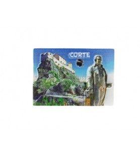 CORTE imán de resina  -  CORTE imán de resina Tamaño: 5 X 7 cm