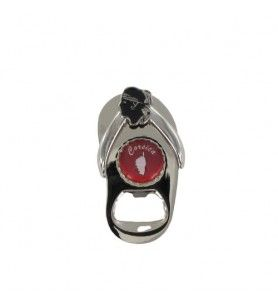 Magnet-Tong-Flaschenöffner Rot