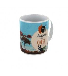 Taza de Souvenirs de Córcega