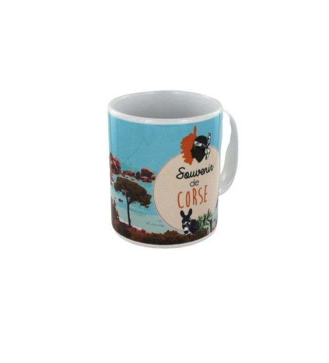 Mug Souvenir de Corse