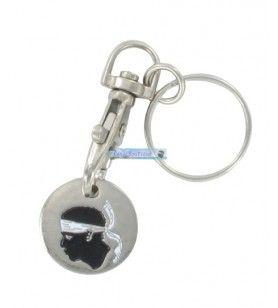 Porte clés jeton de caddie 213