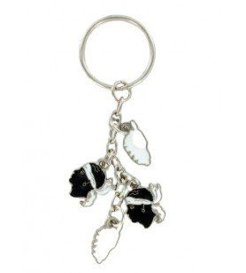Moorish-headed key ring corsica
