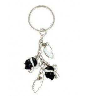 Maurischer Kopf Schlüsselanhänger Korsika  - Maurischer Kopf Schlüsselanhänger Korsika