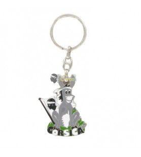 Sitting donkey key ring 4.5