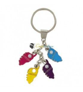Porte clés breloques île  - Porte clés breloques île