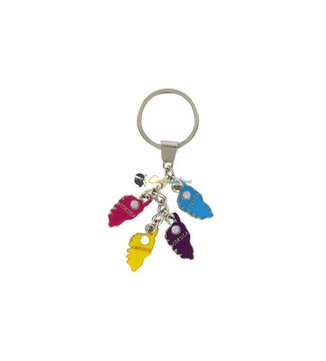 Porte clés breloques île 373