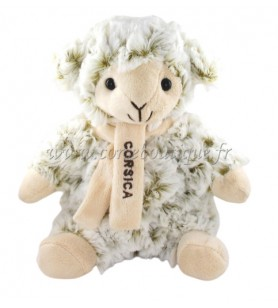 Peluche Rodadou 18 cm Mouton Corsica