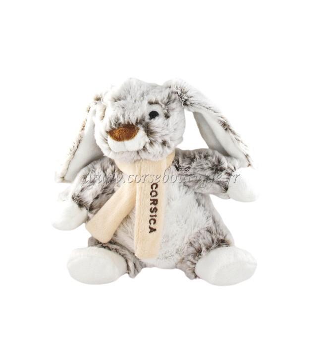 Peluche Rodadou 18 cm di Coniglio Corsica
