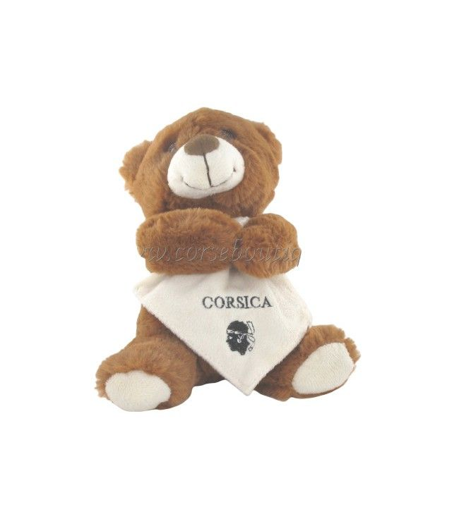Bear with cuddly toy