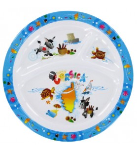 Placa de bebé compartimiento de la decoración de Córcega