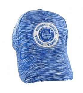 Casquette Timbre bleu