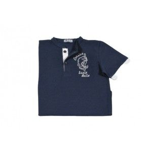More Child Polo Shirt  -  More Child Polo Shirt  100% Cotton  Machine wash at 30°. Iron on the back for screen printing.