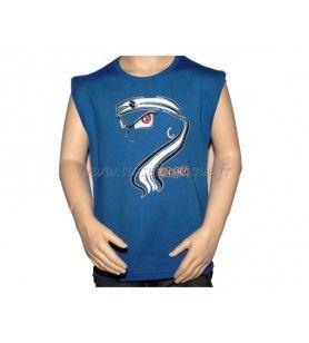 Camiseta de tirantes de aspecto infantil  - Camiseta de tirantes para niños serigrafiada