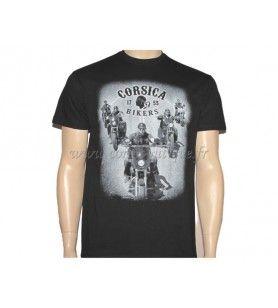 Biker-T-Shirt  - Siebdruck-T-Shirt für Erwachsene