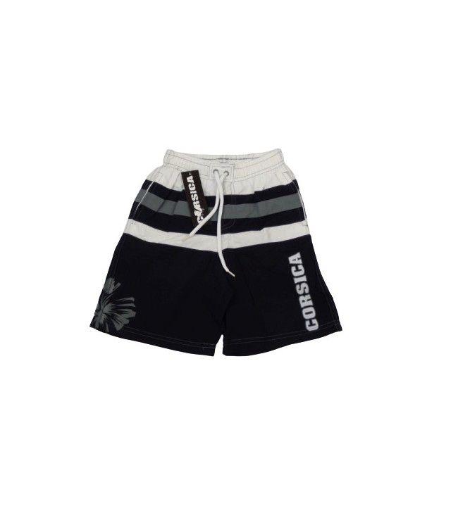 Pantalones Cortos De Bano Para Ninos Corsica Negro