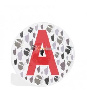 Adhesive round