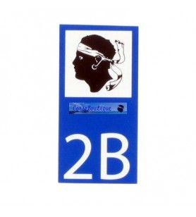 Motorrad-Aufkleber 2B  - Aufkleber Motorrad 2B Abmessungen: ca. 6 x 3 cm.