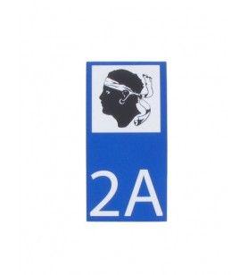 AUTOCOLLANT MOTO 2A
